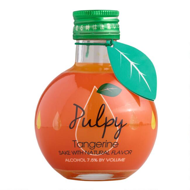 Pulpy Tangerine Sake 180ml
