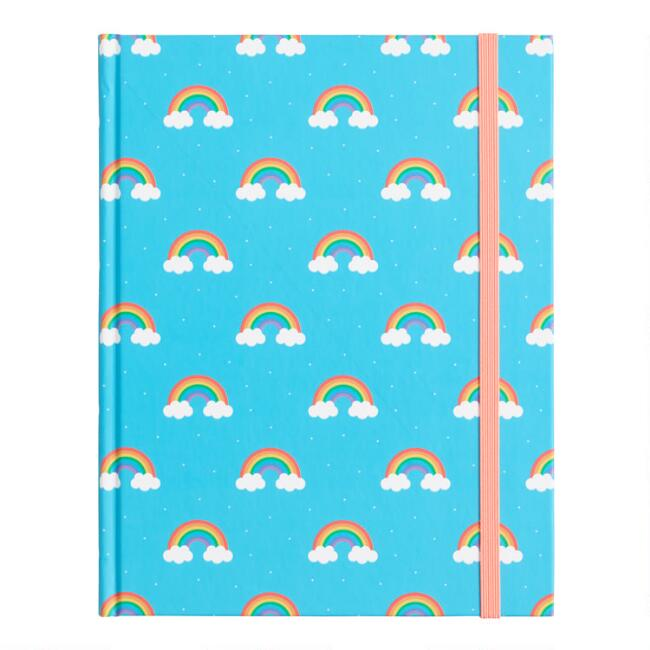 Rainbow Hardcover Journal