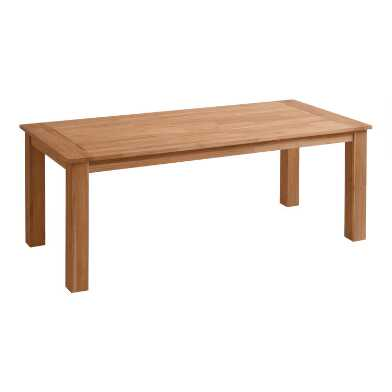 Natural Teak Calero Outdoor Dining Table
