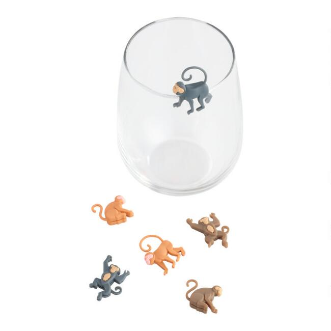 Monkey Wine Charms 6 Count