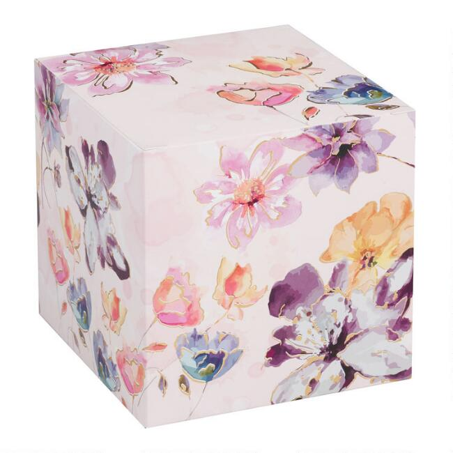 Floral Watercolor Mug Gift Box