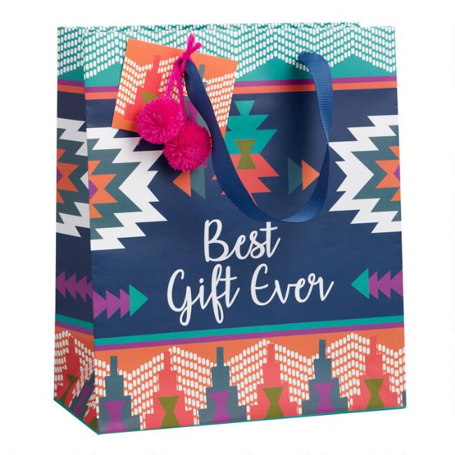 Medium Southwest Boho Best Gift Ever Gift Bag
