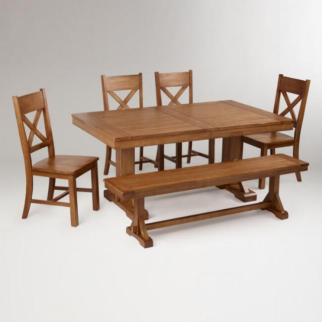 Antique Honey Verona Dining Collection