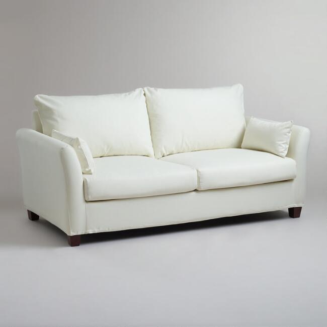World Market Luxe Sofa Slipcover