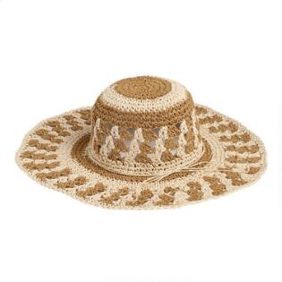 c954f019ba3 Brown and Natural Sun Hat. Quick Shop