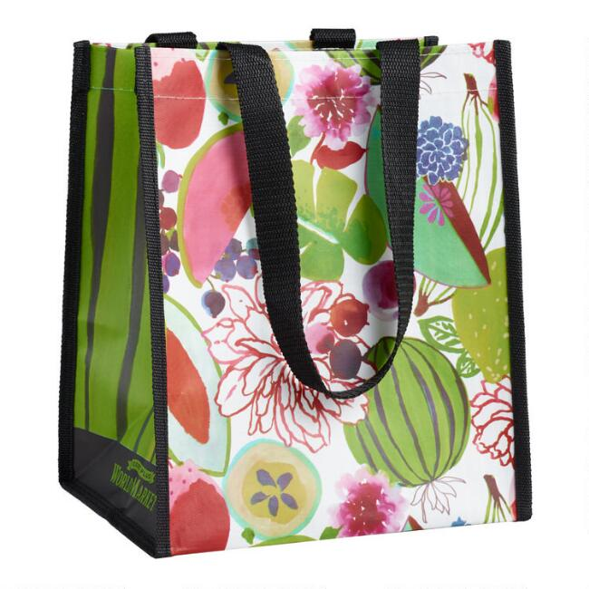 Small Fruit Tote Bags Set of 2