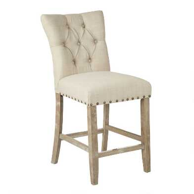Addison Upholstered Counter Stool Set of 2