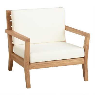 Natural Teak Calero Outdoor Occasional Chair