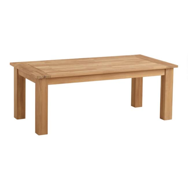 Natural Teak Calero Outdoor Occasional Coffee Table