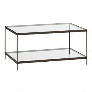 Glass Table Coffee Table.Coffee Tables End Tables Accent Tables World Market