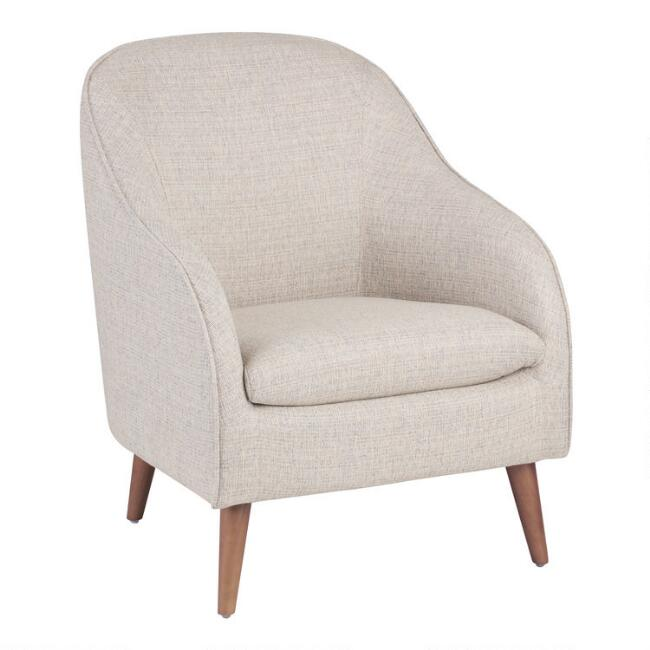 Natural Curved Back Moris Chair