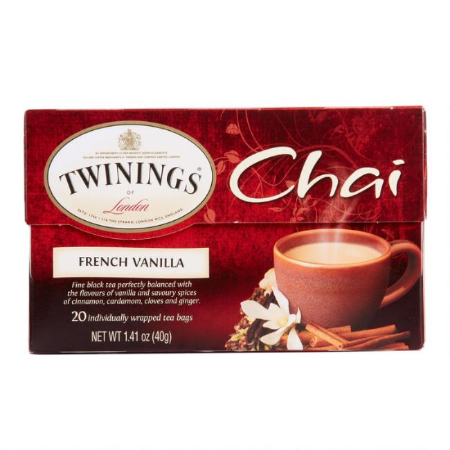 Twinings French Vanilla Chai Tea Set of 6