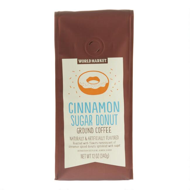 12 Oz. World Market® Cinnamon Sugar Donut Ground Coffee