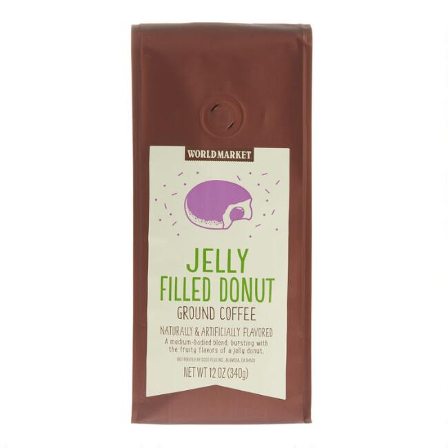 12 Oz. World Market® Jelly Donut Ground Coffee