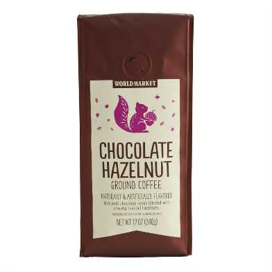 12 Oz. World Market® Chocolate Hazelnut Ground Coffee
