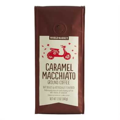 12 Oz. World Market® Caramel Macchiato Ground Coffee