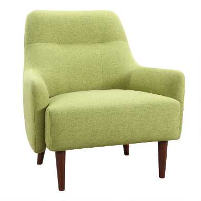 Green Evan Upholstered Chair