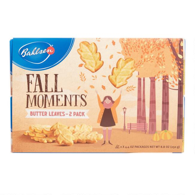 Bahlsen Fall Moments Butter Leaves Cookies 2 Pack