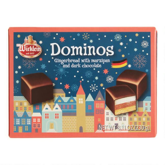 Wicklein Holiday Dominoes with Marzipan