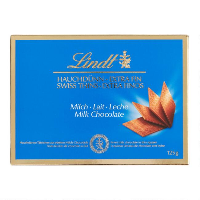 Lindt Milk Chocolate Thins
