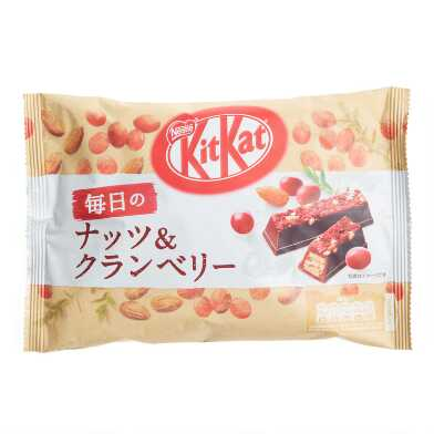 Nestle Kit Kat Cranberry Almond Wafer Bars Bag