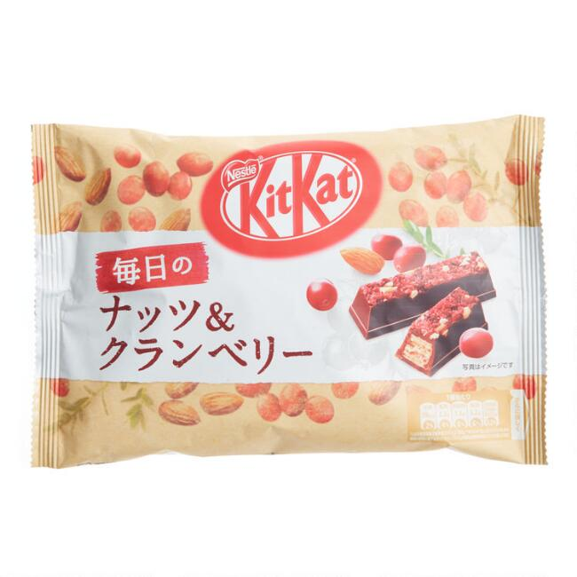Nestle Cranberry Almond Kit Kat Bag
