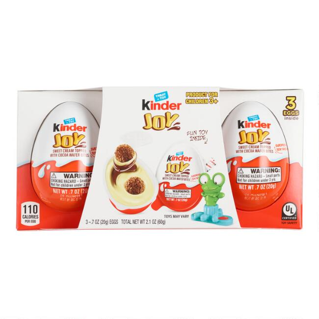 Kinder Joy Eggs 3 Pack