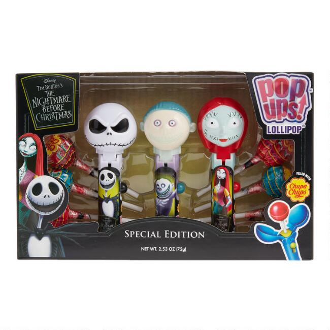 Nightmare Before Christmas Pop Ups Lollipop Holders 3 Pack