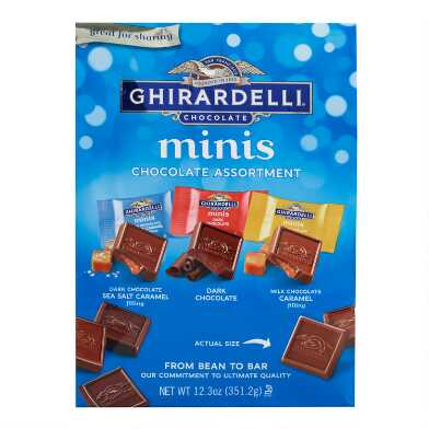 Ghirardelli Minis Assorted Chocolate Squares Bag