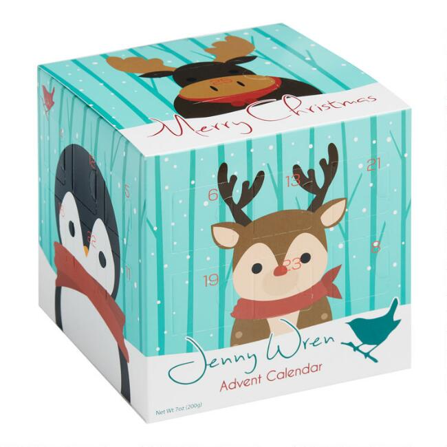 Jenny Wren Milk Chocolate Cube Advent Calendar