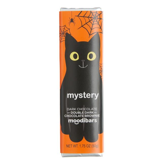 Moodibar Mystery Cat Dark Chocolate Brownie Bar