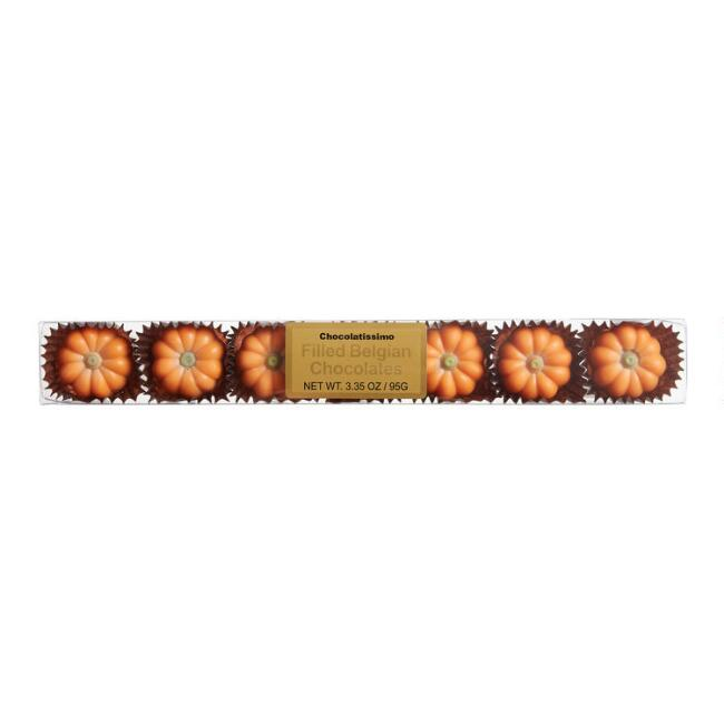Belgian Chocolate Pumpkins 7 Piece