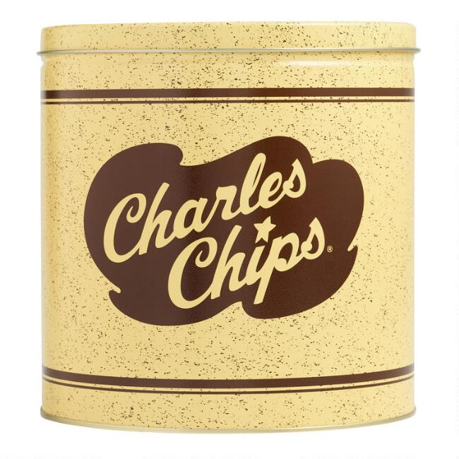 Charles Chips Original Potato Chips Tin