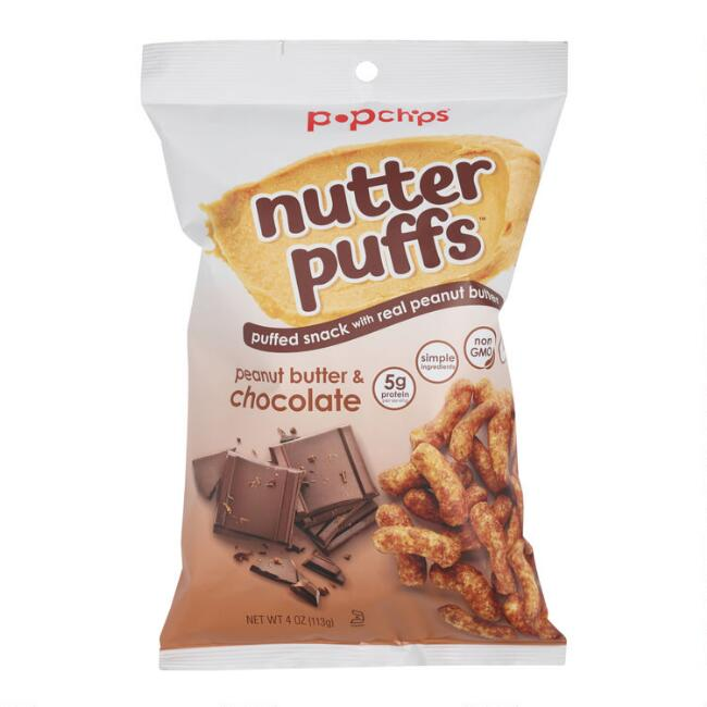 Popchips Peanut Butter and Chocolate Nutter Puffs