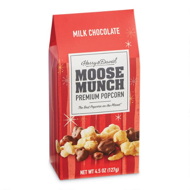 Harry & David Milk Chocolate and Caramel Moose Munch Popcorn
