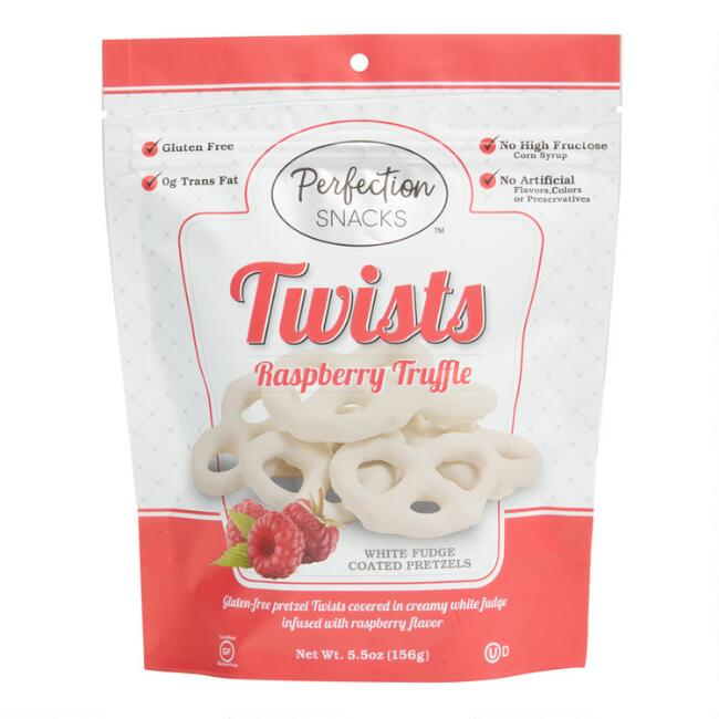 Perfection Snacks Raspberry Truffle Pretzel Twists