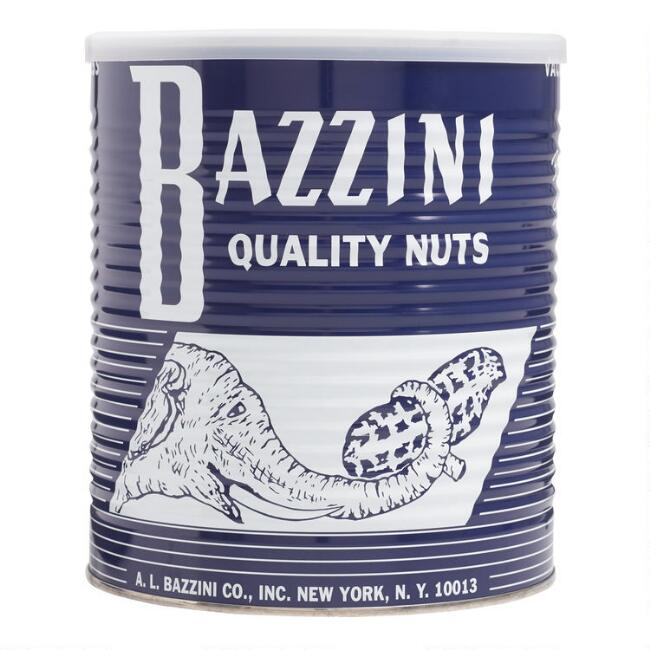 Bazzini Blue Elephant Roasted Peanuts Tin