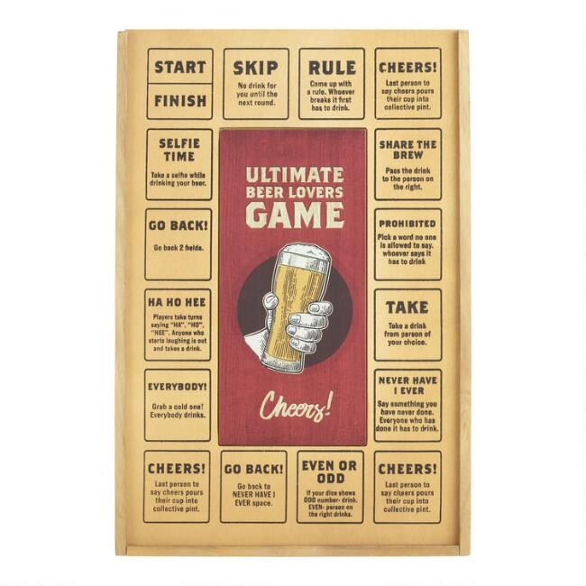 Ultimate Beer Lovers Game Set with Pretzels and Kettle Chips