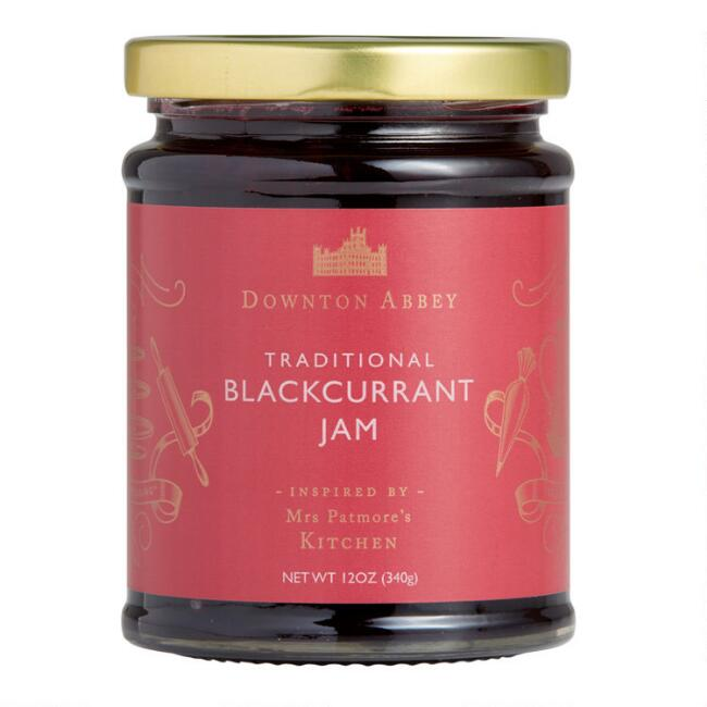 Downton Abbey Blackcurrant Jam Set Of 2
