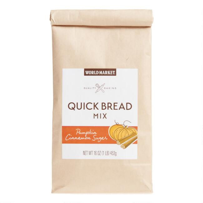 World Market® Pumpkin Cinnamon Sugar Quick Bread Mix