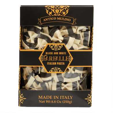 Borgo De' Medici Black And White Bow Tie Pasta