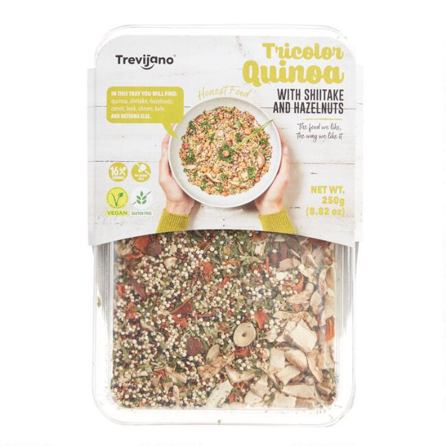 Trevijano Tri Color Quinoa with Mushroom And Hazelnut