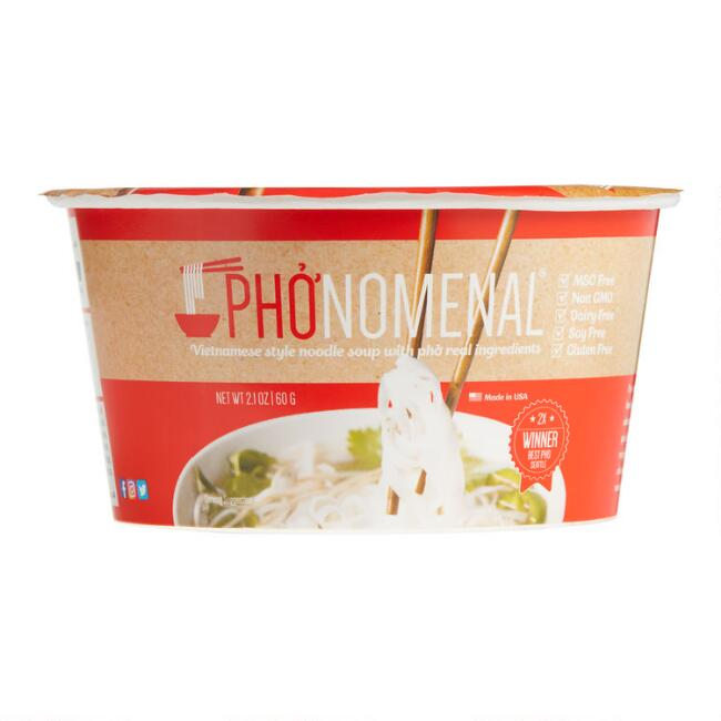 Pho'nomenal Beef Pho Soup Set Of 6