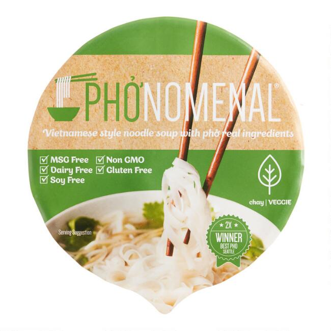 Pho'nomenal Vegetable Pho Soup Set Of 6
