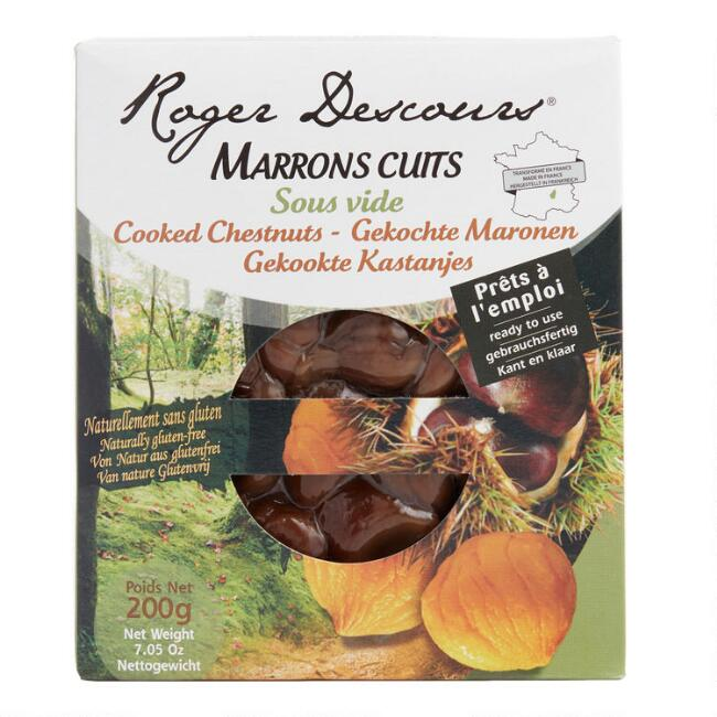 Roger Descours Cooked Chestnuts