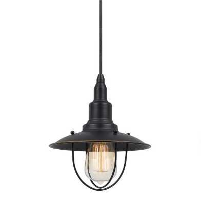 Metal Cage Industrial Quincy Pendant Lamp