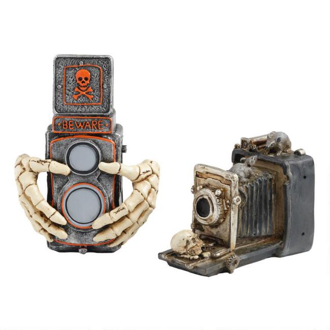 Spooky Camera Decor Set of 2
