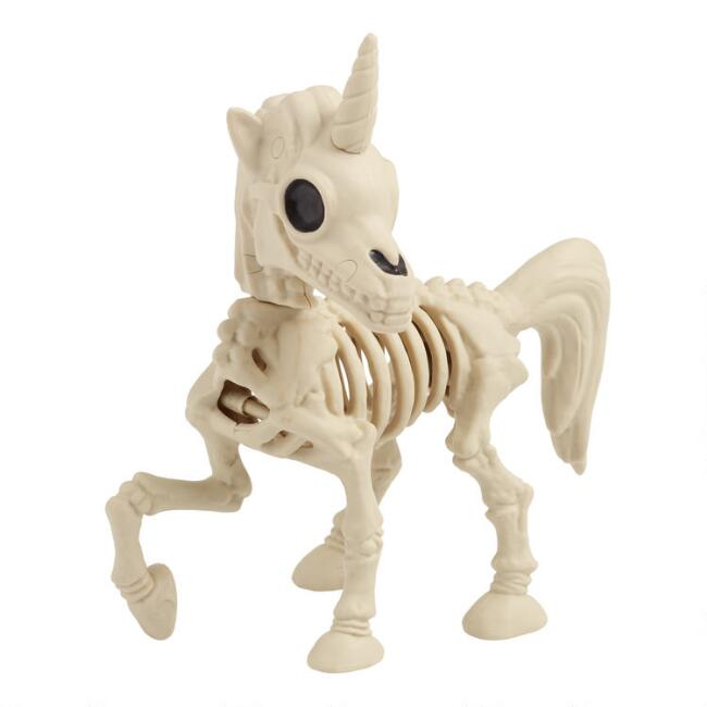 Unicorn Skeleton Decor
