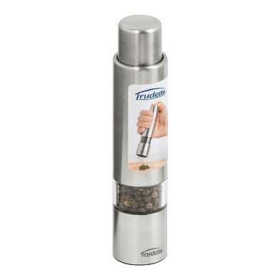 Prefilled One Hand Pepper Grinder