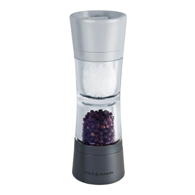 Lincoln Prefilled Duo Salt And Pepper Grinder